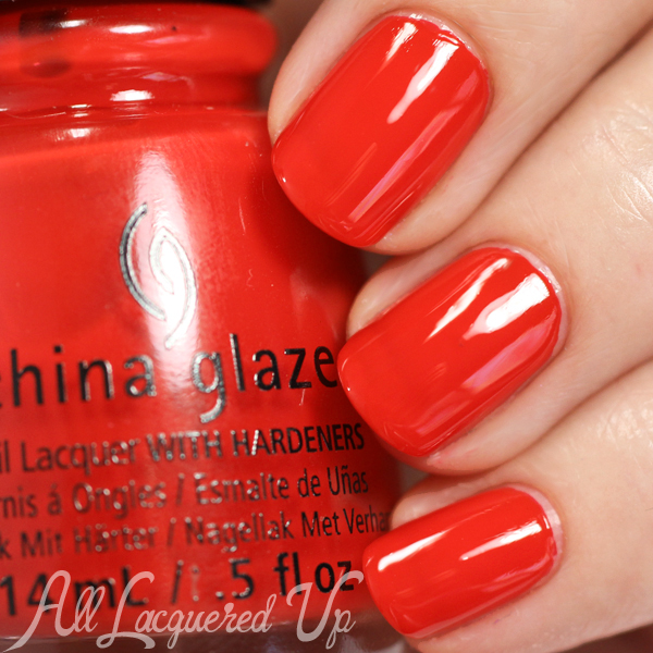 China Glaze The Heat is On swatch - Desert Escape via @alllacqueredup