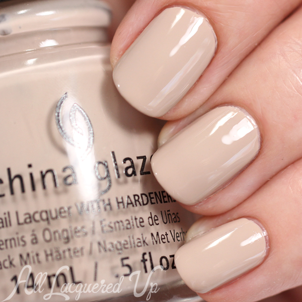 China Glaze What's She Dune? swatch - Desert Escape via @alllacqueredup