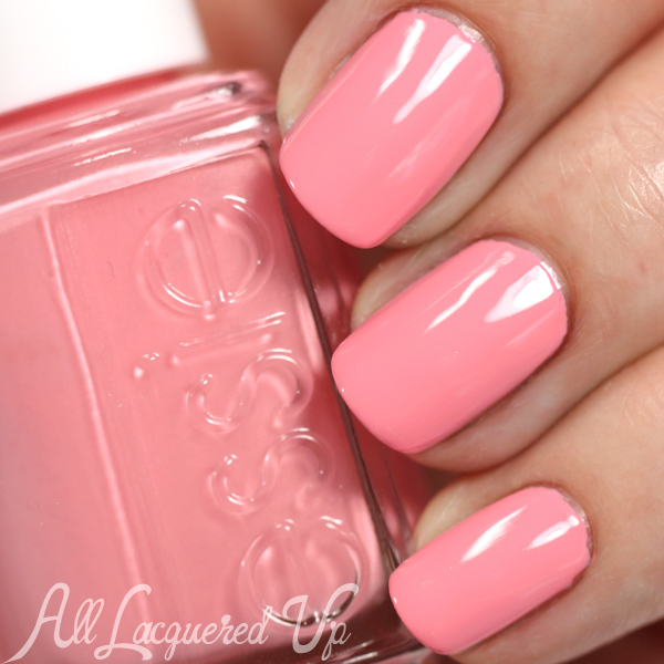 Essie Groove is in the Heart swatch - Neon 2015 via @alllacqueredup