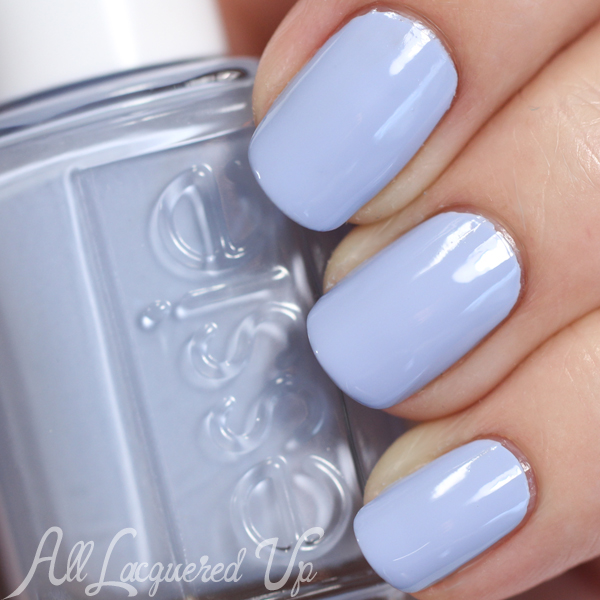 Essie Salt Water Happy swatch - Summer 2015 via @alllacqueredup