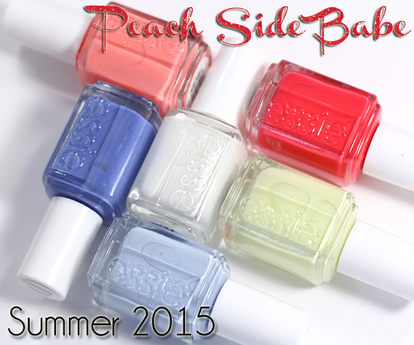 Essie Summer 2015 swatches and review via @alllacqueredup