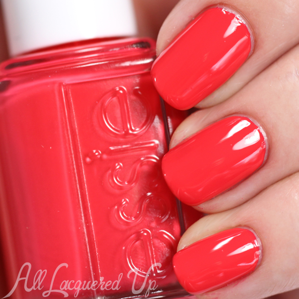 Essie Sunset Sneaks swatch - Summer 2015 via @alllacqueredup