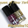Maybelline 100 Years Collection Color Show Nail Lacquers