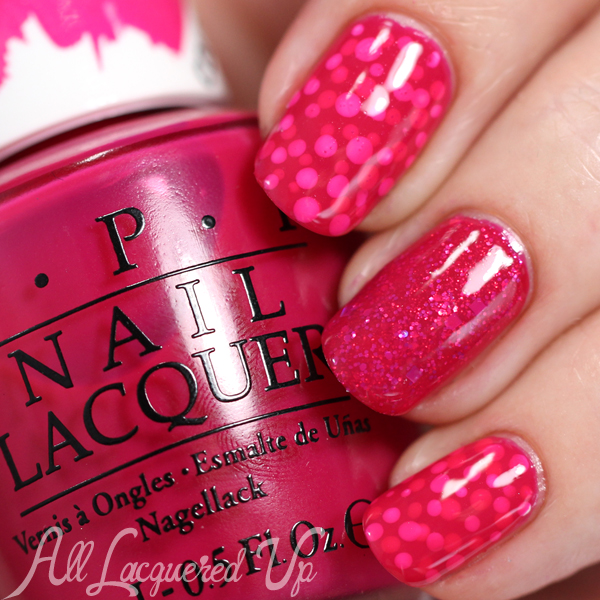 OPI Color Paints Nail Art via @alllacqueredup