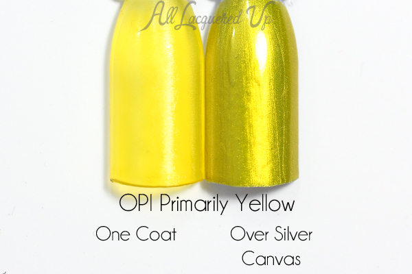 OPI Primarily Yellow swatch - Color Paints via @alllacqueredup
