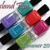 Zoya Summer 2015 – Island Fun Swatches & Review
