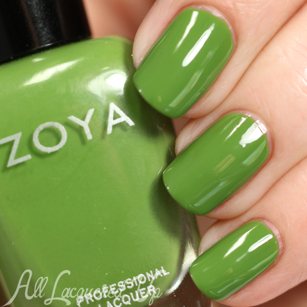 Zoya Jace swatch - Summer 2015 Island Fun via @alllacqueredup