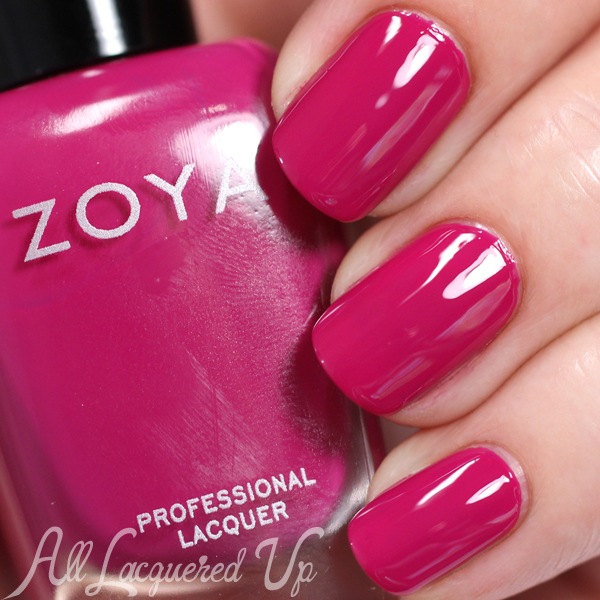 Zoya Nana swatch - Summer 2015 Island Fun via @alllacqueredup