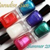 Zoya Summer 2015 Paradise Sun Swatches & Review