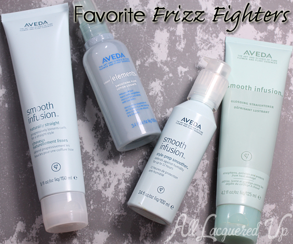 Aveda Smooth Infusion Frizz Fighters via @alllacqueredup