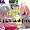 3 OPI Color Paints Nail Art Ideas