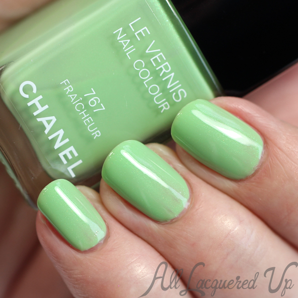 CHANEL Fraicheur Le Vernis - A CHANEL Jade dupe? : All Lacquered Up