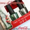 OPI Coca-Cola 2015 – Celebrating the 100th Anniversary of the Coke Bottle