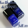 Chanel Vibrato and Fortissimo – Blue Rhythm de Chanel