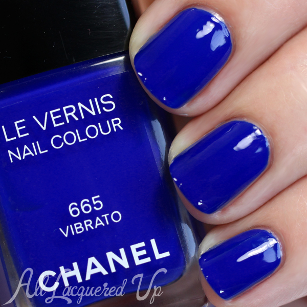 Chanel Vibrato swatch - Blue Rhythm