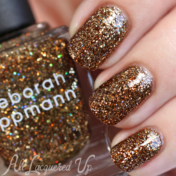 Deborah Lippmann Can't Be Tamed swatch via @alllacqueredup