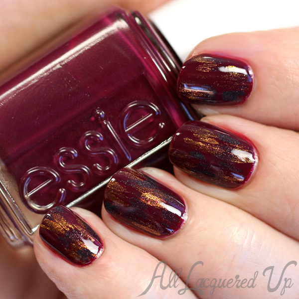 Essie Fall 2015 Nail Art - Rock Legend