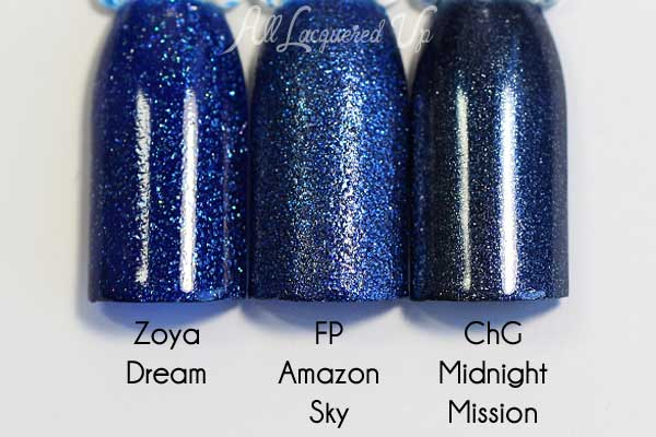 FingerPaints Amazon Sky comparison via @alllacqueredup