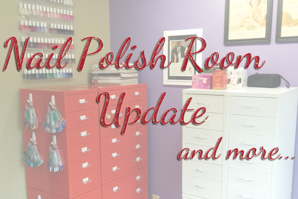 Nail Polish Room Update via @alllacqueredup