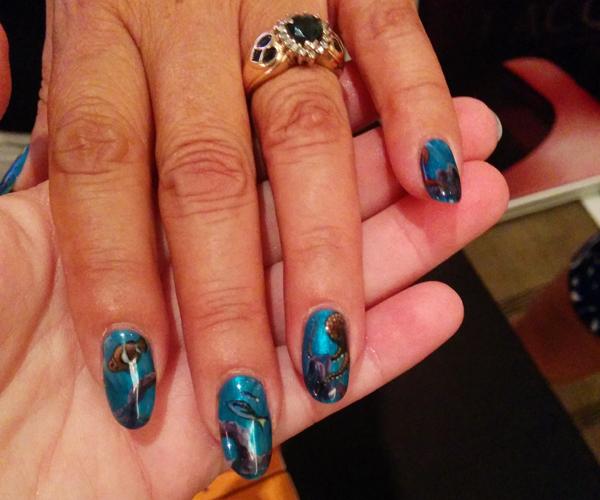OPI Venice Nail Art