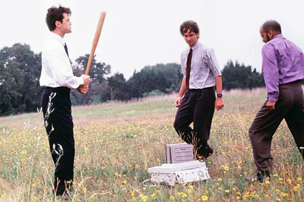 Office Space Fax Machine Scene
