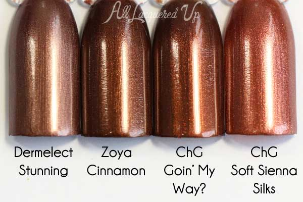 Zoya Cinnamon - Flair Fall 2015