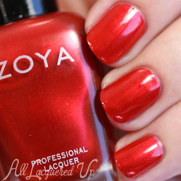 Zoya Ember swatch - Flair Fall 2015