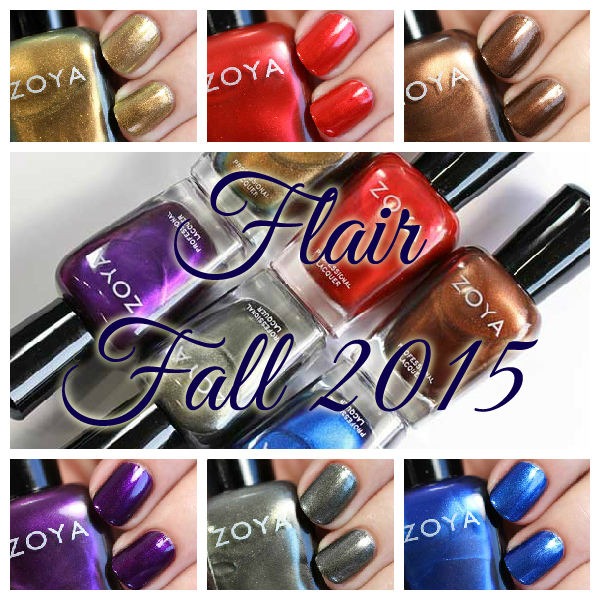 Zoya Fall 2015 - Flair collection