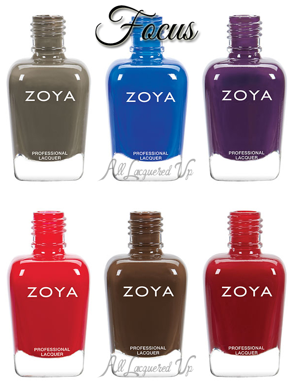 Zoya Fall 2015 - Focus