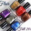 Zoya Fall 2015 Flair Swatches & Review