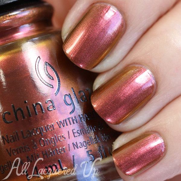China Glaze Cabin Fever swatch - Fall 2015