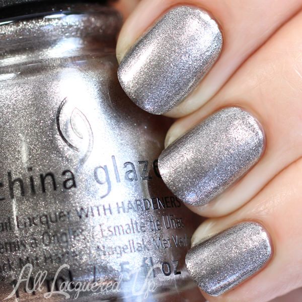 China Glaze Check Out the Silver Fox swatch - Fall 2015