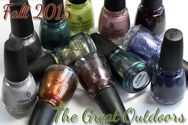 China Glaze Fall 2015 - The Great Outdoors