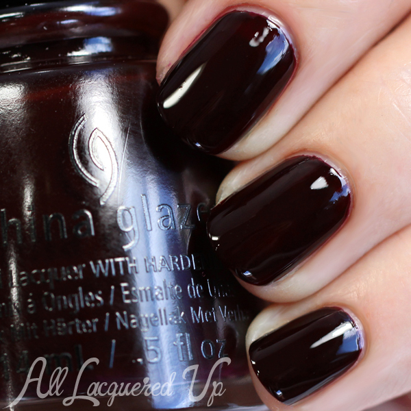 China Glaze Free Bear Hugs swatch - Fall 2015