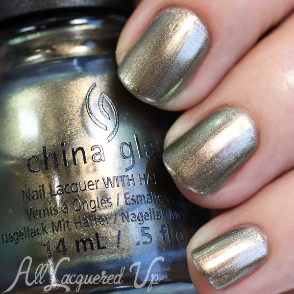 China Glaze Gone Glamping swatch - Fall 2015