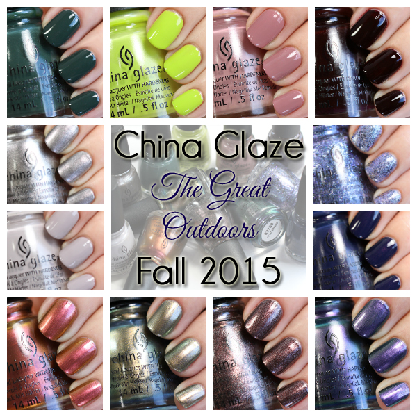 China Glaze The Great Outdoors - Fall 2015
