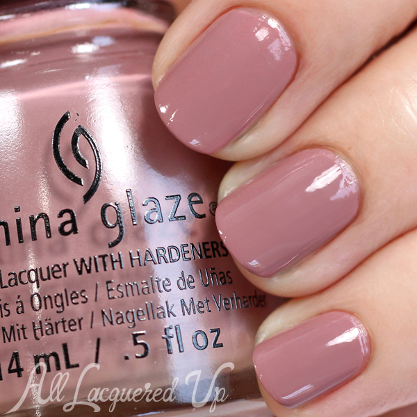 China Glaze My Lodge or Yours? swatch - Fall 2015
