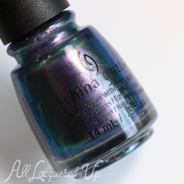 China Glaze Pondering swatch  - Fall 2015