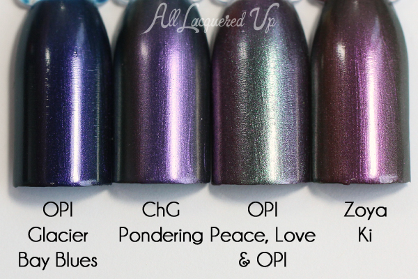 China Glaze Pondering comparison