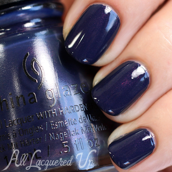 China Glaze Sleeping Under the Stars swatch - Fall 2015