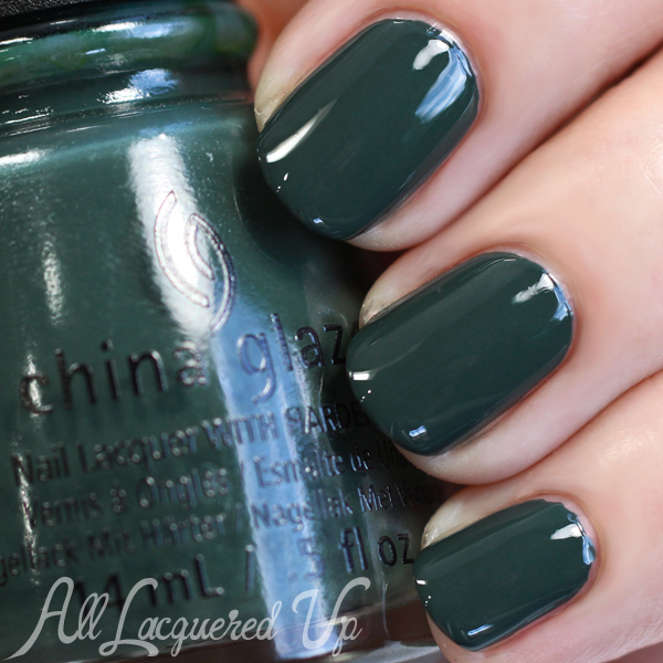 China Glaze Take a Hike swatch - Fall 2015