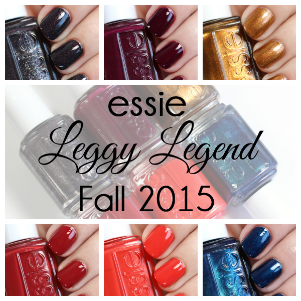 Essie Fall 2015 swatches