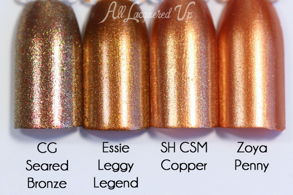 Essie Leggy Legend comparison