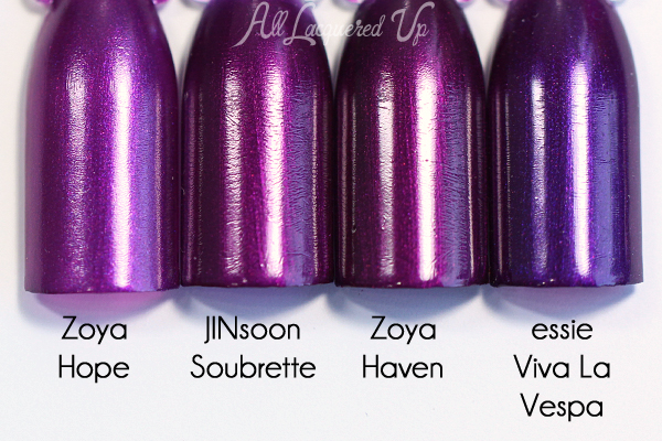 JINsoon Soubrette comparison - Operetta Fall 2015