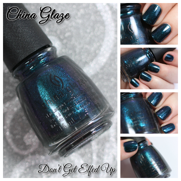 China Glaze Don't Get Elfed Up - Holiday 2015