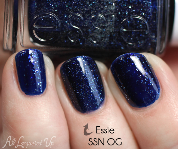 essie Starry Starry Night comparison