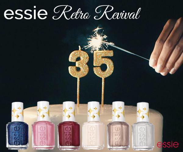 essie Retro Revival 35th Anniversary Collection