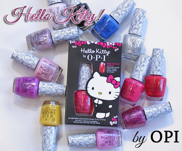 OPI Hello Kitty nail polish collection