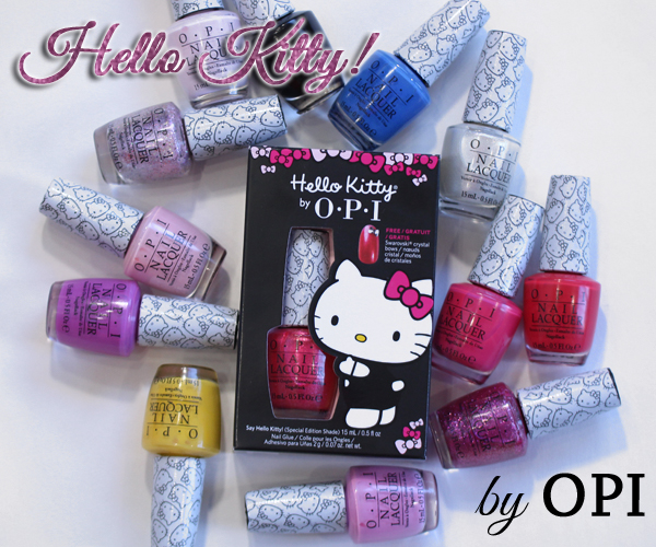 OPI Hello Kitty Collection Swatches & Review