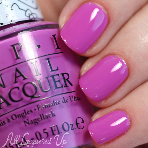 OPI Super Cute in Pink - Hello Kitty